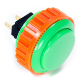 Sanwa OBSN-30 Green Pushbutton 30mm with Screw Ring